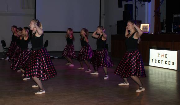 Haken auf Tanzfläche